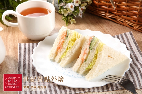 燻鮭魚三明治 Smoked salmon Sandwich