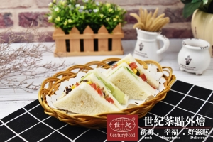 素-田園蔬菜三明治 Vegetarian-Vegetable Sandwitch