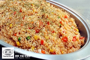 蕃茄肉絲炒飯 Tomato pork fried rice