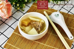 鳳梨排骨竹筍湯 Pineapple ribs bamboo shoot soup