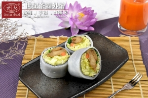素-什錦河粉捲 Vegetarian-Assorted rice noodles roll