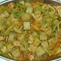 星洲炒蘿蔔糕 Sin Chew fried turnip cake